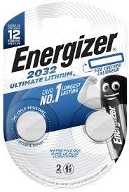 Купить <b>батарейку Energizer</b> Ultimate Lithium <b>CR2032</b> BP2, 2 шт ...