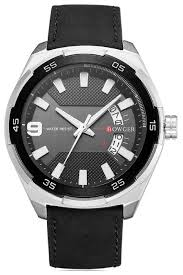 Купить <b>Наручные часы</b> Bowger G75008 <b>Silver</b>/Black/Black по ...