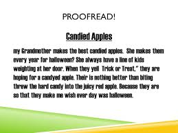 figurative language write down  different types of figurative  candied apples my grandmother makes the best candied apples she makes them every