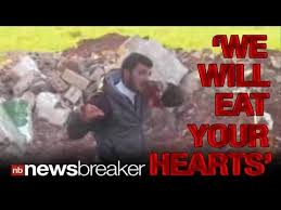 Image result for isis heart eating guy