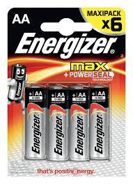 """<b>Батарейка Energizer</b> """"Max"""", тип АА/LR6, <b>1</b>,5 V, 6 шт — купить в ..."""
