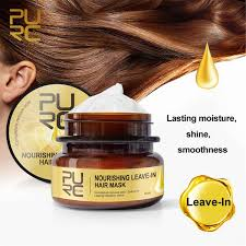 Очищающая питательная <b>несмываемая маска для волос</b> ...