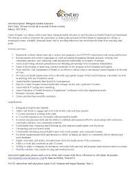 cover letter for health educator position  cover letter for health educator position