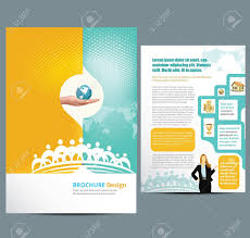 simple flyer template stock photos pictures royalty simple simple flyer template busines template layout illustration