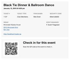 event tickets plus wordpress plugin from modern tribe event tickets plus qr code ticket