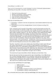 class work 5 kuznetsov downshifting informative essay