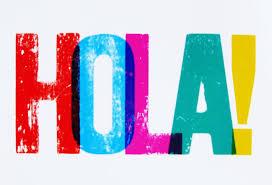 Image result for hola clip art