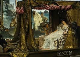 «<b>Встреча Антония и</b> Клеопатры: 41 г. до н.э.» картина - Лоуренс ...