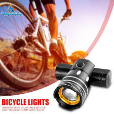 AI92 <b>USB Rechargeable Bike Tail Light Bicycle</b> Safety Warning Day ...
