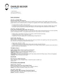 B B Sales Resume B B Sales Resume  CHARLES BECKERsales   marketing                 charles wei becker