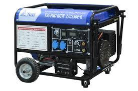 <b>Бензиновый сварочный генератор</b> TSS PRO GGW 3.0/250E-R