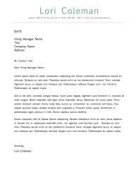 simple beautiful cover letter template for microsoft word    simple beautiful cover letter template for microsoft word