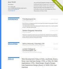 free resume templates   cv templates   resumonkresume template       bold       create