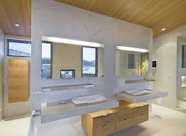 for an organic and sleek looking bathroom you need a simple and discreet lighting system best bathroom lighting