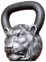 Купить <b>Гиря</b> цельнолитая <b>Iron Head Лев</b> 16 кг по низкой цене с ...