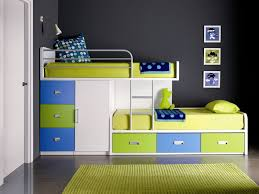 attractive home interior storage for kids bedroom design ideas showing assorted color side board bunk bed bed design design ideas small room bedroom