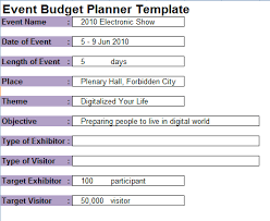 event budget planner template event planning contract templates