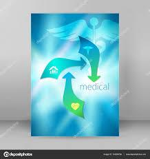 medicine concept cover page a brochure stock vector vector illustration eps 10 graphic design elements vertical banner flyer dental service presentation template brochure vector by silvercircle