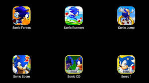 Sonic Forces,Sonic Runners,<b>Sonic Jump</b>,Sonic Dash <b>2</b>,Sonic Boom ...