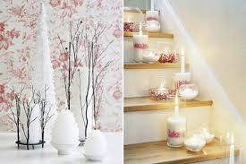 beautiful pink christmas decorations for stair beautiful christmas decorations