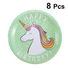 <b>Disposable Party Tableware Unicorn</b> Promotion-Shop for ...