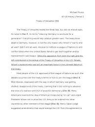 ap us history essay treaty of versailles dbq ap us history essay treaty of versailles dbq