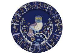 Блюдце Taika темно-синего цвета — купить по цене 1250 руб в ...