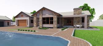 House designs  amp  Residential Architecture   Mc Lellan ArchitectsFarm Style Plan in South Africa