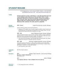 Example Of A Nursing Resume  graduate nurse resume samples resume