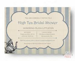 High Tea Kitchen Tea High Tea Invitation Bridal Shower Tea Party Invitations