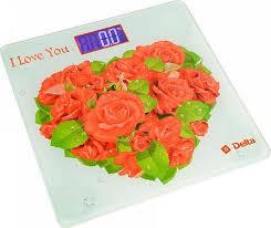 <b>Напольные весы Delta D</b>-<b>9217</b> Розы для любимой, электронные ...