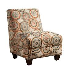 upholstery fabric accent chair cream