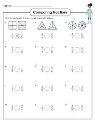 Comparing Fractions Worksheet - KidsPressMagazine.comGet It Now