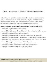 topcreativeservicesdirectorresumesamples lva app thumbnail jpg cb