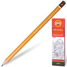 Купить <b>Карандаш чернографитный KOH</b>-I-<b>NOOR</b> 1500, 1 шт., H ...