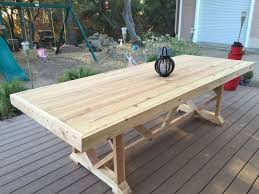 dining table that seats 10: diy large outdoor dining table seats   diy outdoor furniture outdoor living