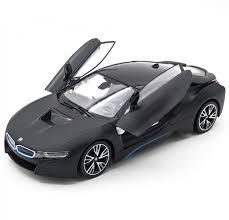 <b>Радиоуправляемая машина Rastar BMW</b> i8 Black 1:14 (двери ...