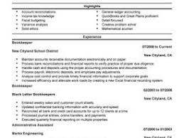 breakupus winsome images about basic resumes resume breakupus fair best bookkeeper resume example livecareer adorable bookkeeper resume example and pleasant resume for