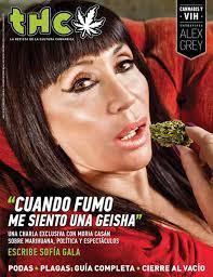 THC Moria Casan THC es una revista que cada vez que le hace una nota a un famoso que poco tiene que ver con el mundo del cannabis dispara alguna polémica. - THC-Moria-Casan