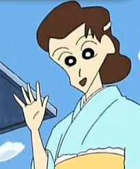 Misae's Older Sister - Shin Chan - Cartoons Wikipedia