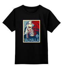 Детская футболка <b>классическая</b> унисекс <b>Printio Бессмертный</b> ...