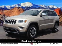 Certified Jeep Grand Cherokee for Sale in Colorado Springs, CO ...