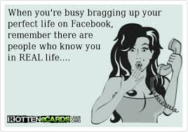 Rottenecards - When you're busy bragging up your perfect life on ... via Relatably.com