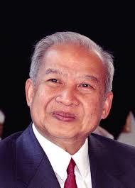 Hasil gambar untuk King Norodom Sihanouk
