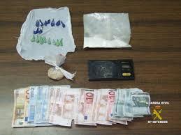 Resultado de imagen de droga y dinero