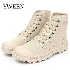 <b>YWEEN</b> Lace Up <b>Men's Casual Shoes</b> Spring Autumn High Top ...
