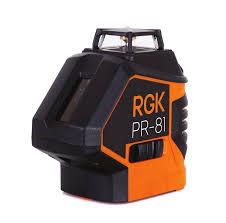 Инстуркция по эксплуатации лазернго <b>нивелира RGK PR</b>-<b>81</b>