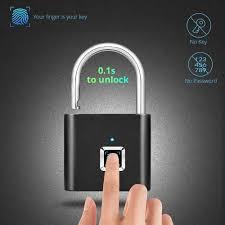 Towode Keyless USB Rechargeable Door Lock Fingerprint ... - Vova