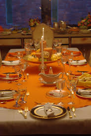 decor large size dining table decorating orange fall color table orange fall color table decoration
