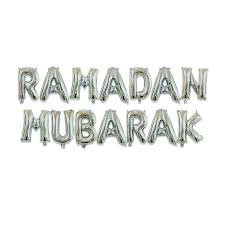 EID MUBARAK / <b>RAMADAN MUBARAK</b> ballons letter <b>foil balloon</b> set ...